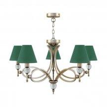 Люстра зелёного цвета Lamp4you  M2-05-SB-LMP-O-29