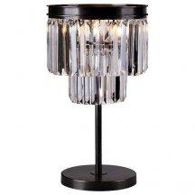 Интерьерная настольная лампа 31100 31101/T black+gold