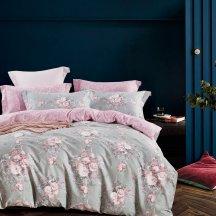Натуральное постельное белье Twill TPIG6-760 евро 4 наволочки