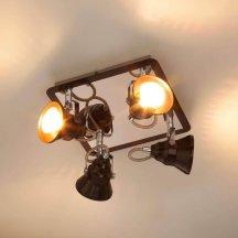 Потолочный светильник Eurosvet 20062/4 хром/венге