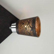 Потолочный светильник Eurosvet 20061/4 черный под бронзу