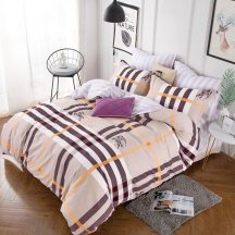 Красивое постельное белье TPIG4-439 Twill полуторный