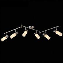 Трековый светильник для кухни Eurosvet Мэдиссон 20043/6 сатин-никель