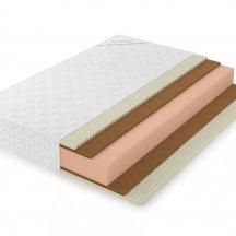 Матрас Lonax foam strong medium plus 180x200, беспружинный
