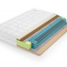 Двусторонний матрас Lonax memory medium TFK 90x195