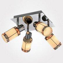 Потолочный светильник Eurosvet 20054/4 хром