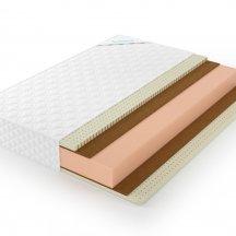 Матрас Lonax foam medium plus 80x200, беспружинный
