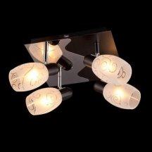 Потолочный светильник Eurosvet 60301/4 хром/венге