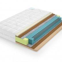 Lonax memory-latex medium S1000 180x195 зима-лето