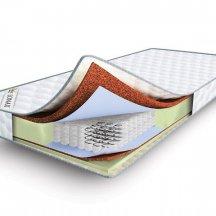 Двусторонний матрас Lonax Cocos-Medium Econom TFK 70x180
