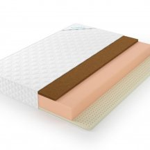 Матрас Lonax foam latex cocos 3 180x200, кокосовый