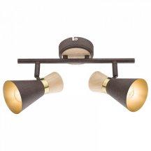 Деревянный потолочный светильник Globo Marei 54808-2