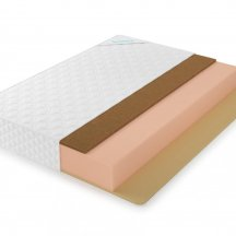 Матрас Lonax foam cocos memory 2 max plus 140x190, беспружинный