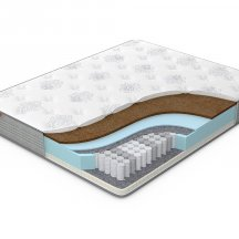 Высокий матрас Орматек Comfort Duos Soft/Middle (Brown) 90x190