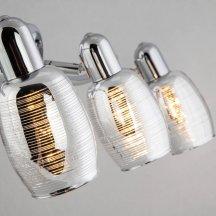 Настенно-потолочный светильник Eurosvet 20033/3 хром