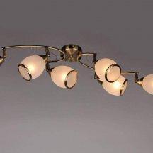 Потолочный светильник Omnilux OML-35127-06 под бронзу
