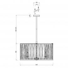 Подвесная люстра для кухни Vele Luce Merluzzo VL1482L06