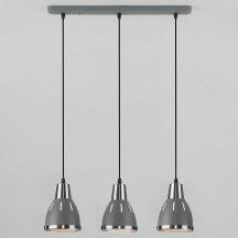 Подвесной светильник Eurosvet Nort 50173/3 серый