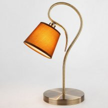 Настольная лампа Eurosvet Lilly 01047/1 античная бронза в спальню