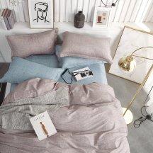 Натуральное постельное белье Twill TPIG2-688-50 двуспальное