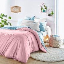 Розовый пододеяльник (180х215 см) + наволочки (50х70)