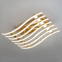 Потолочный светодиодный светильник Eurosvet Avery 90091/7 золото