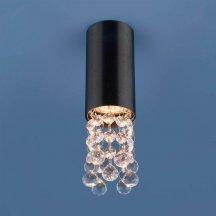 Потолочный светильник Elektrostandard 1084 GU10 BK черный 4690389123634