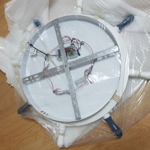 Потолочный светодиодный светильник Arte Lamp Helm A2523PL-1WH