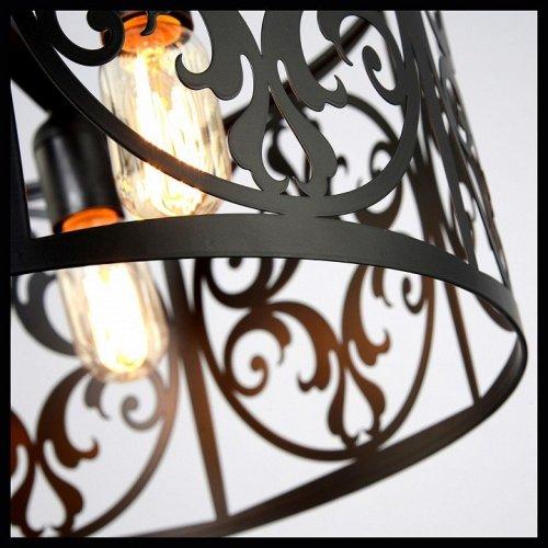 Подвесной светильник Максисвет 4335 2-4335-3-mattBK E27