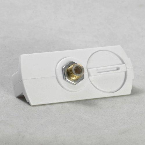 Трековый светильник однофазный Lussole Track Lights LSN-0106-01-TAW