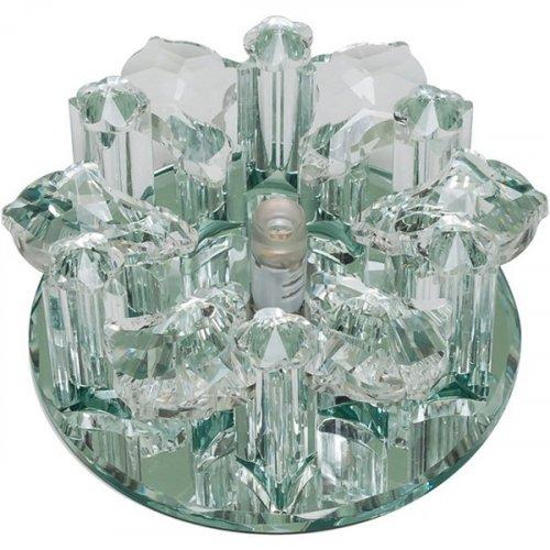 Точечный светильник Fiore DLS-F121 G4 GLASSY/CLEAR