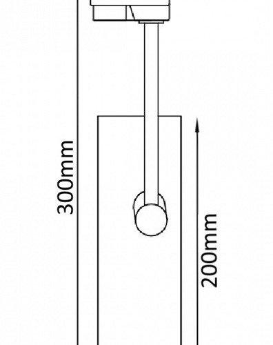 Трековый светильник однофазный Crystal Lux CLT 0.31 005 WH