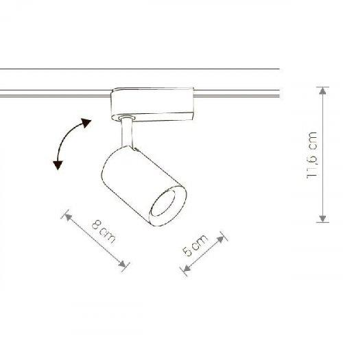 Трековый светодиодный светильник Nowodvorski Profile Iris 8998