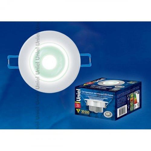 Точечный светильник  ULM-R31-3W/NW IP20 White картон