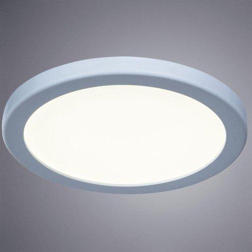 Потолочный светодиодный светильник Arte Lamp Mesura A7979PL-1WH