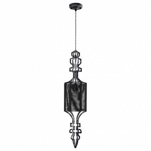 Подвесной светильник Crystal Lux Prima SP1 B Black-Silver/Black